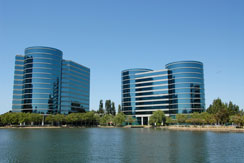 Office buildings in Silicon Valley, California, USA