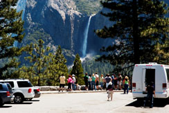 Yosemite Valley, car and minivan tours